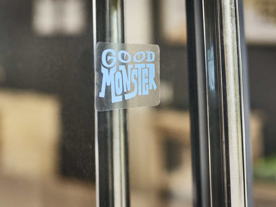 1000 Clear screen printing stickers - 1 color printing-Adhesive on front